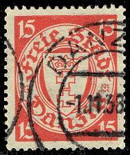 Buy Danzig #176 Coat of Arms; Used (2Stars)  DAN176-03XRS