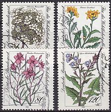 Buy GERMANY BUND [1983] MiNr 1188-91 ( O/used ) Pflanzen