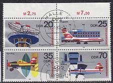 Buy GERMANY DDR [1980] MiNr 2516-19 4er ( OO/used ) Flugzeuge