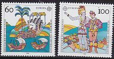 Buy GERMANY BUND [1992] MiNr 1608-09 ( **/mnh ) CEPT