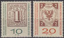 Buy GERMANY BUND [1959] MiNr 0310-11 b ( **/mnh ) Briefmarken