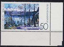 Buy GERMANY BUND [1978] MiNr 0986 F25 ( **/mnh ) [01] Gemälde Plattenfehler