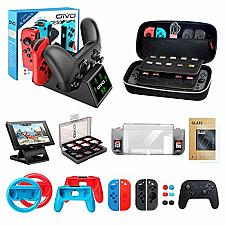 Buy Accessories Kit Bundle for Nintendo Switch, OIVO 12 in 1 Accessories Bundle Kit