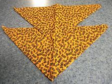 Buy Two Brand New Halloween Orange BOO Design Dog Bandanas For Dog Rescue Charity