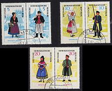 Buy GERMANY DDR [1964] MiNr 1074-79 Zdr ( OO/used ) [01] Trachten