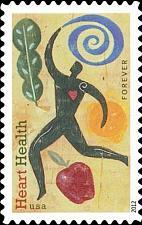 Buy 2012 45c Heart Health, Apple Scott 4625 Mint F/VF NH