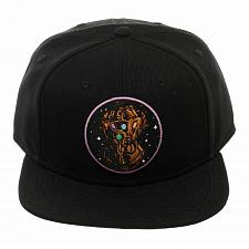 Buy Thanos Infinity Gauntlet Snapback Hat Glove Bioworld Licensed Marvel Comics NWT