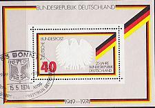 Buy GERMANY BUND [1974] MiNr 0807 Block 10 ( Sonder-O/used )
