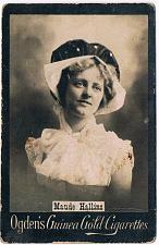 Buy Ogden's Guinea Gold Cigarettes Tobacco Card Maude Hallins Vintage