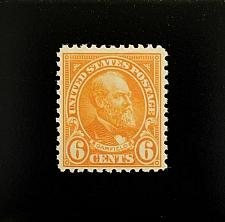 Buy 1922 6c James A. Garfield, Red Orange Scott 558 Mint F/VF NH