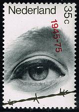 Buy Netherlands #528 Eye Looking Over Barbed Wire; MNH (5Stars) |NED0528-06XKN