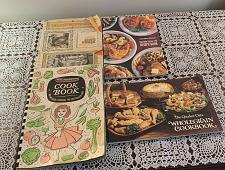 Buy Four Cookbooks Hamilton Beach Quaker Oats Wholegrain Farberware Ecko Prudential