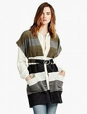 Buy Lucky Stripe Poncho New With Tags Women`s One Size