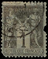 Buy France #86a Peace and Commerce; Used (0Stars) |FRA0086a-01XDP