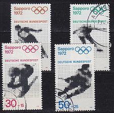 Buy GERMANY BUND [1971] MiNr 0680-83 ( O/used ) Olympiade