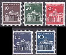 Buy GERMANY BUND [1966] MiNr 0506-10 w ( **/mnh )