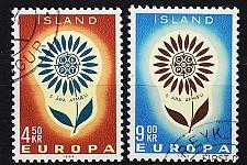 Buy ISLAND ICELAND [1964] MiNr 0385-86 ( O/used ) CEPT