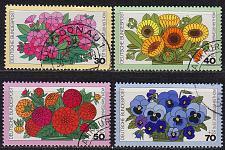 Buy GERMANY BUND [1976] MiNr 0904-07 ( O/used ) Blumen