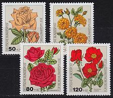 Buy GERMANY BUND [1982] MiNr 1150-53 ( **/mnh ) Blumen