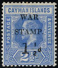 Buy Cayman Islands #MR2 War Tax; Unused (1Stars) |CAYMR2-02XDP