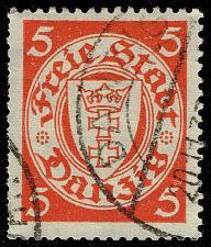 Buy Danzig #170 Coat of Arms; Used (2Stars)  DAN170-01XRS