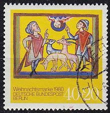 Buy GERMANY BERLIN [1980] MiNr 0633 ( O/used ) Weihnachten