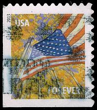 Buy US #4784 Flag in Autumn; Used (2Stars)  USA4784-02