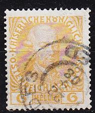 Buy ÖSTERREICH AUSTRIA [1908] MiNr 0143 v ( O/used )