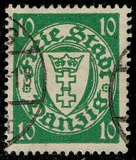 Buy Danzig #173 Coat of Arms; Used (3Stars) |DAN173-02XRS