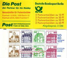 Buy GERMANY BERLIN [Markenheft] MiNr 12 a VIII ( **/mnh ) Plattenfehler mit 611