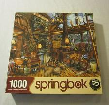 Buy The Hunting Lodge by Edward Wargo 1000 Piece Puzzle by Springbok