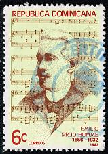 Buy Dominican Rep. #864 Emilio Prud'Homme; Used (3Stars) |DOR0864-02XRS