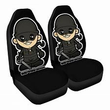 Buy Lil Westley Car Seat Covers Nerdy Geeky Pop Culture Set of 2 Front Seat