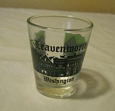 Buy Vintage Shot Glass - Leavenworth Washington - Mountains & Cottages
