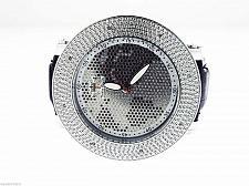 Buy Men's Techno Royale JUMBO 57MM Bezel W/ 8 Diamonds Watch World map face
