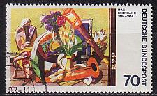 Buy GERMANY BUND [1974] MiNr 0822 ( O/used ) Gemälde