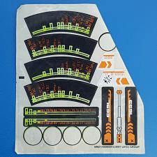 Buy Lego Sticker 7693 Mars Mission ETX Alien Strike 59621 Partial Sheet 2007