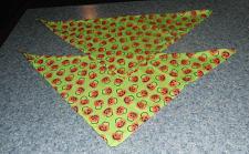 Buy Two Brand New Green Pumpkin Design Dog Bandanas 4 Cocker Spaniel Rescue Charity