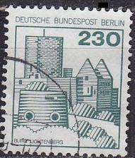 Buy GERMANY BERLIN [1978] MiNr 0590 ( O/used ) Bauwerke