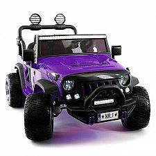 Buy 2021 Explorer Truck Ride On Toy Car With Parental Remote and MP3 Player Purple