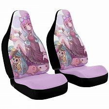 Buy Neko Chan V2 Car Seat Covers Nerdy Geeky Pop Culture Set of 2 Front Seat