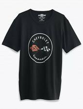 Buy Black Chevrolet Corvette Tee Men`s Medium Graphic Logo New With Tags