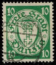 Buy Danzig #173 Coat of Arms; Used (3Stars) |DAN173-03XRS