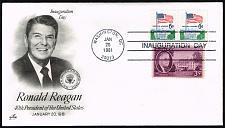 Buy Ronald Reagan Artcraft Cachet Inauguration Day Cover |USACVRLOT-27XDP