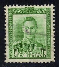 Buy New Zealand #227A King George VI; Used (1Stars) |NWZ0227A-02