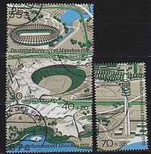 Buy GERMANY BUND [1972] MiNr 0723-26 ( O/used ) Olympiade