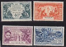Buy FRANZ.NIGER [1931] MiNr 0054-57 ( */mh ) [01]