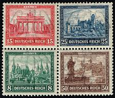 Buy Germany #B33 International Philatelic Exhibition; Unused (3Stars)  DEUB0033-01XDP