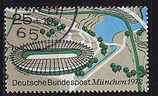 Buy GERMANY BUND [1972] MiNr 0723 ( O/used ) Olympiade