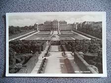 Buy Wien Belvedere. Vintage Sepia Austria Postcard. Signed 1944.